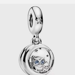 Always By Your Side Owl Charm